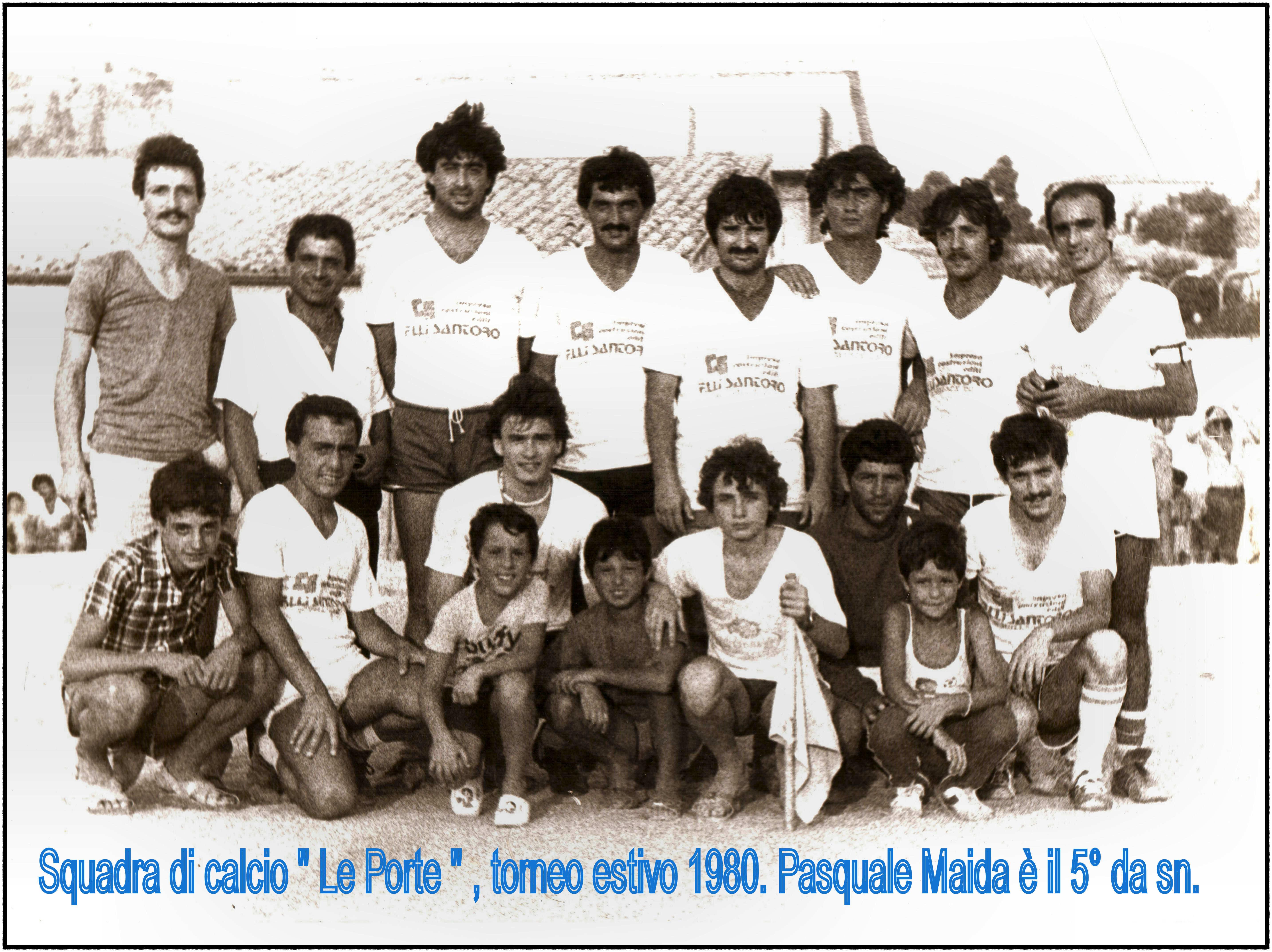 squadra di calcio Le porte 1980 (2)